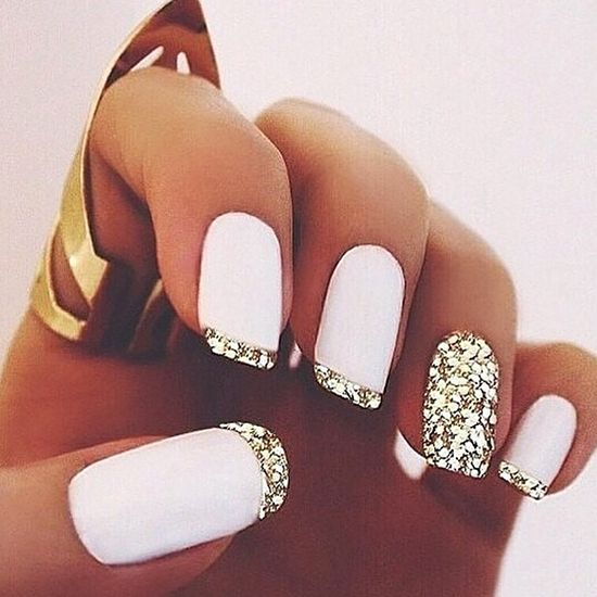 french-tips-wedding-nails