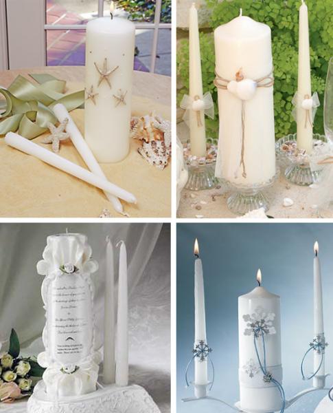 свадебные свечи очаг