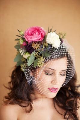 Свадебное украшение своими руками на голову