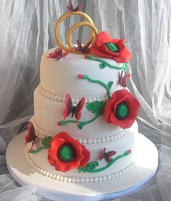 Торт с маками от mila_kanari