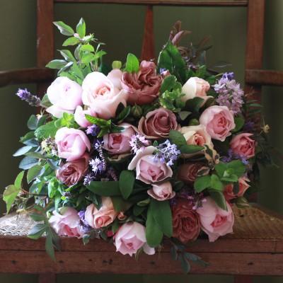 luxury-vintage-pink-summer-bouquet