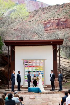 Ruffled - photo by http://akstudiodesign.com/ - http://ruffledblog.com/zion-national-park-wedding/