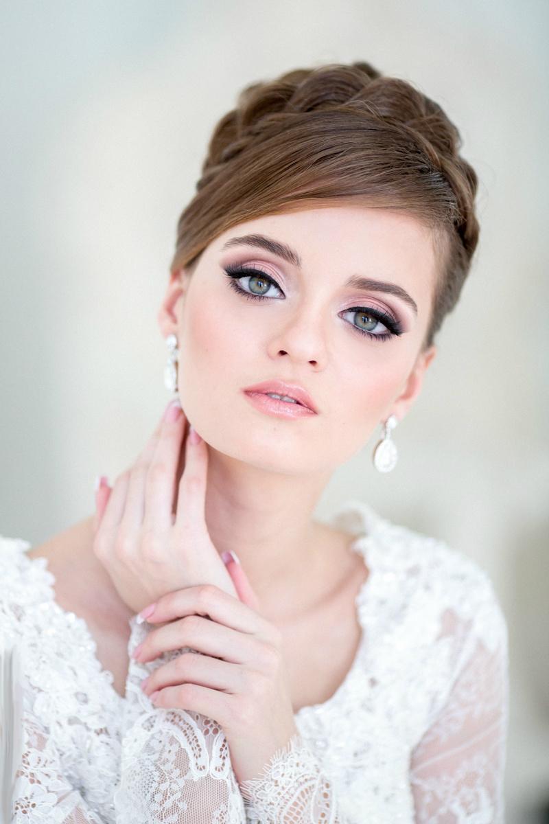 Свадебный макияжа картинки