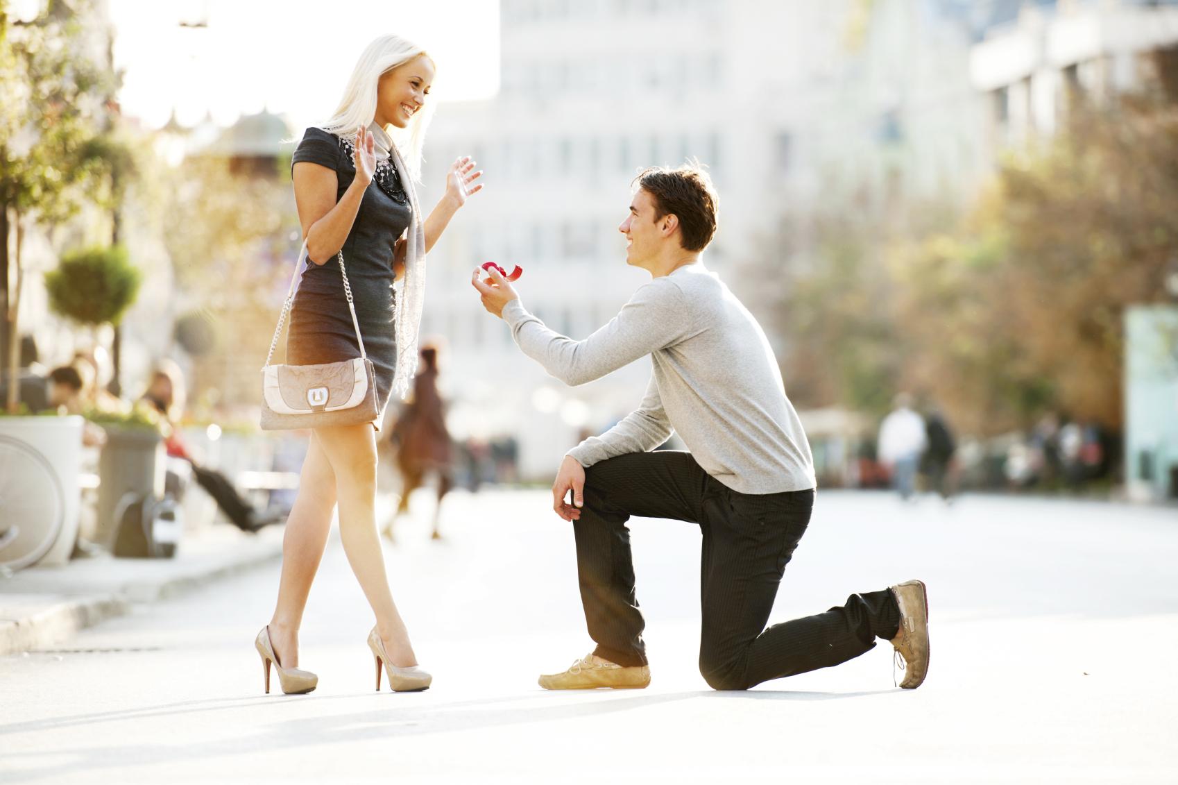 Как незабываемо сделать предложение руки и сердца