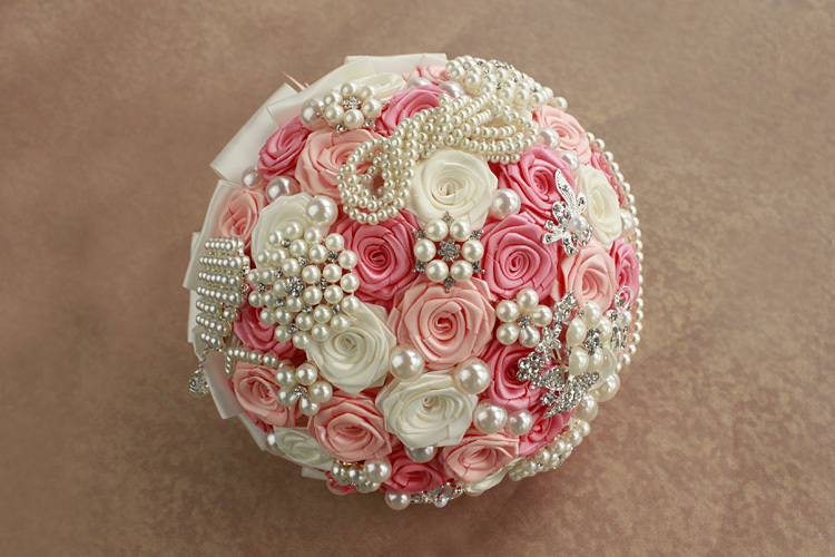 2015Luxury-elegant-wedding-bouquet-for-brides-and-flower-girl-high-quality-hand-bouquet-