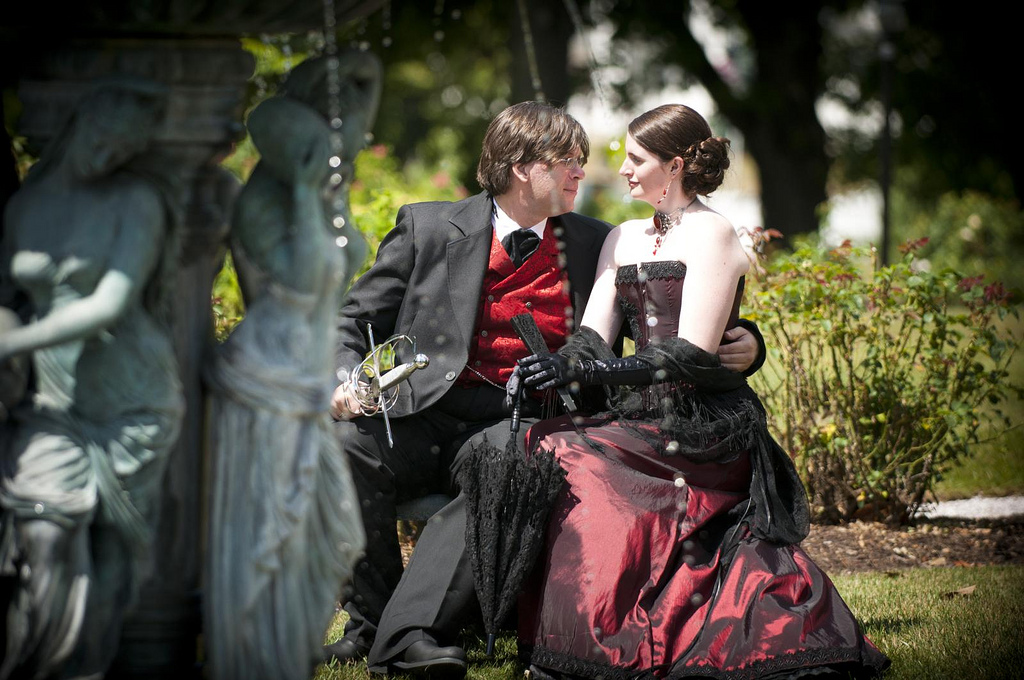 Victorian wedding style inspiration by Petra Opperman