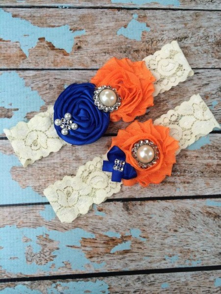 61-different-colors-wedding-garter-royal-blue-orange-garter-set-wedding-garters-bridal-garter-lace-garter-vintage-lace-garter