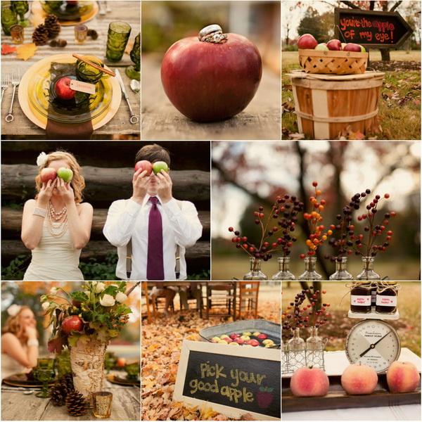Fall-Apple-Wedding-Theme