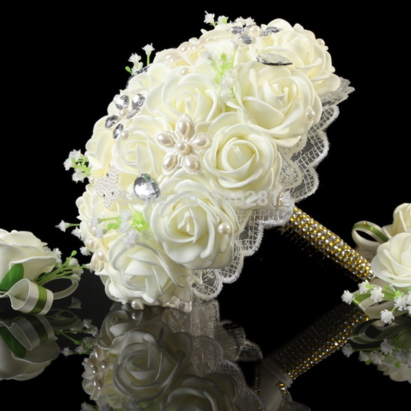 Free-shipping-2014-new-creative-pearl-hand-drill-the-bride-hand-bouquet-custom-wedding-wedding-supplies