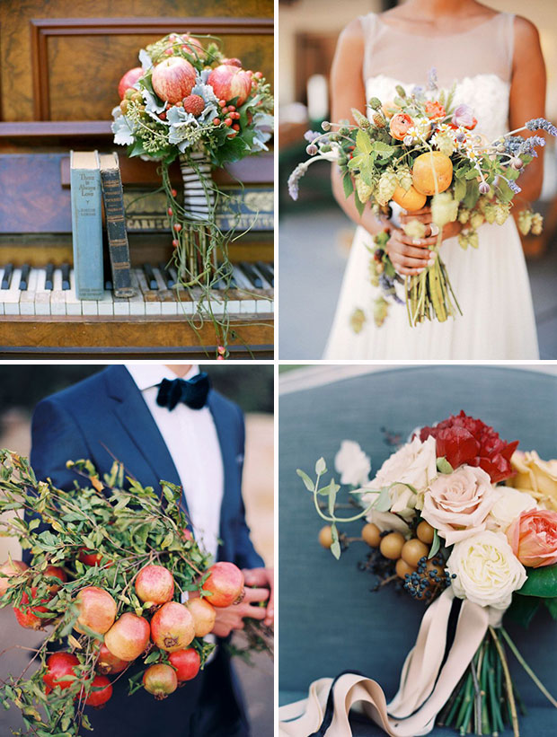 Wedding-decorations-fruit-wedding-bouquets-and-flowers