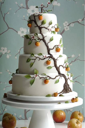 apple-wedding-cake-planet-cake