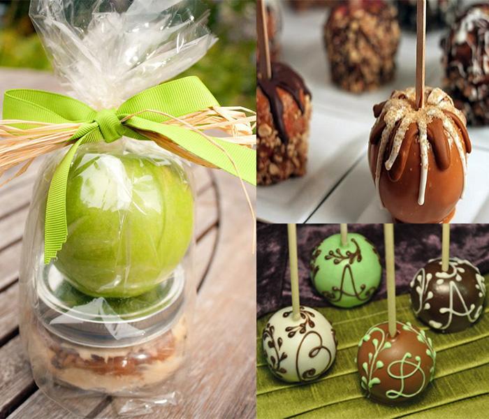 caramel-apples-wedding-favor