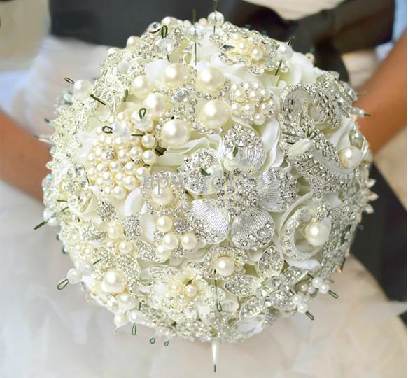 new-luxury-jewelry-wedding-bouquet-high-end
