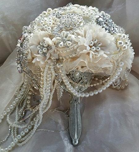 vintage-style-ivory-cascading-jeweled-bouquet-deposit-for-an-elegant-ivory-cascading-brooch-bouquet-ivory-wedding-bouquet-full-price-565